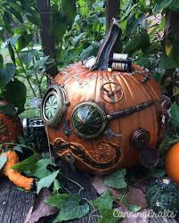 free printable halloween steam pumpkin carving template