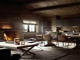 Log Cabin Interior Bedroom Rustic Modern Interiors Grousedays Org
