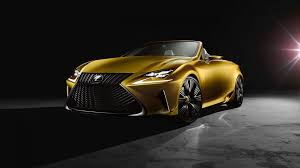 lexus yellow full hd wallpaper lexus cabriolet yellow front view roadster