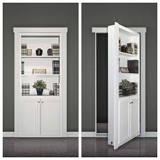 Bookcase With Doors Black Fulfill A Childhood With A Door Kit Homebuilding