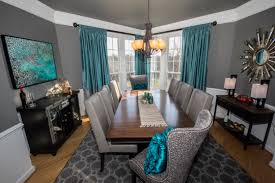 b chic interiors modern coastal dining room
