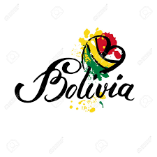 Welcome Flag Welcome To Bolivia Vector Welcome Card With National Flag Of