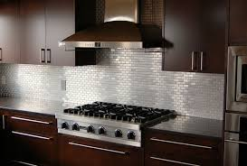 Stainless Steel Kitchen Backsplash Ideas Aralsacom - Modern backsplash