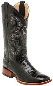 s boots cowboy ferrini s alligator belly print 13 square toe cowboy boots
