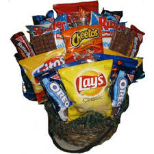Snack Gift Baskets Totally Snack Gift Basket 41 25 Nanis Creations The Place