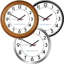 wall clocks wall clocks stand alone clocks non system clocks american time