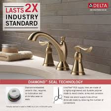 Pex To Faucet Connection Faucet Com 3594 Czmpu Dst In Champagne Bronze By Delta