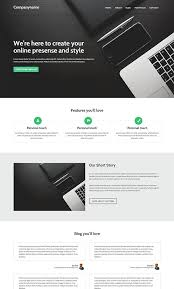 80 free html5 website templates