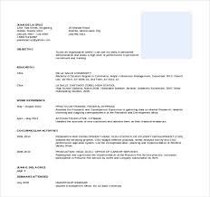 free resume templates for word 25 word professional resume template free free