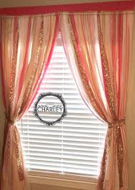 Polka Dot Curtains Nursery Pink And Gold Curtains And Pink And White Polka Dot
