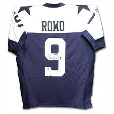buy nfl tony romo dallas cowboys autographed custom thanksgiving