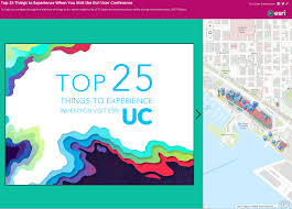 San Diego Convention Center Map by Story Map Tip Top 25 Things To Experience When You Visit Esriuc