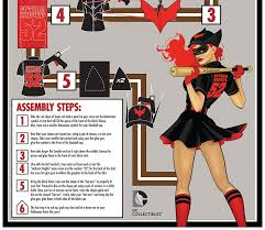 dc collectibles 101 how to make your own bombshells batwoman