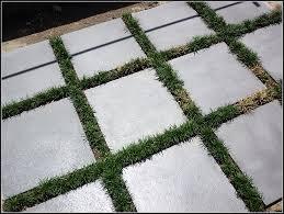 Concrete Patio Pavers by Painting Concrete Pavers
