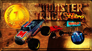 nitro monster truck gameplay pc hd monster trucks nitro youtube