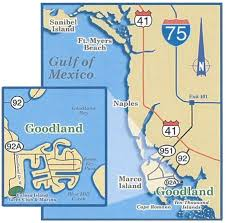 Marcos Island Florida Map Fishing Marco Island Directions To Fins N Grins