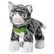 klappar soft toy cat ikea gwyn pinterest
