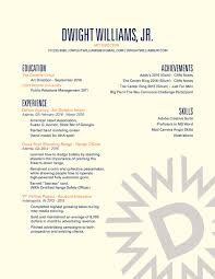 Latest Resume To Download Resume U2014 Dwight Williams Portfolio