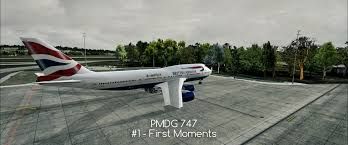 pmdg 747 1 my first flight u2022 c aviation