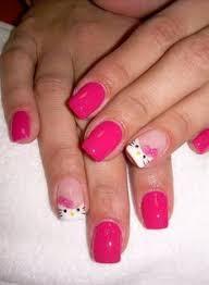5 hello kitty nail designs i like most hello kitty nails kitty