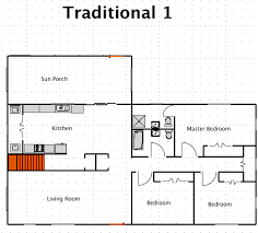 traditional house floor plans traditional house style a free macdraft floor plan for the mac