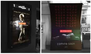 ex machina logo posters and marketing fonts in use