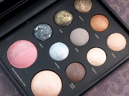 sephora collection mixed metals baked eye and face palette review