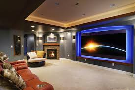 home theater in basement sunnyside home theater remodeling by basements u0026 beyond