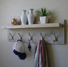 wall mounted coat racks with shelf foter
