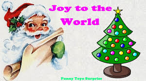 joy to the world christmas carol lyrics children song cartoon