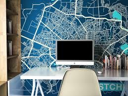 city map murals many cities the inside city map murals many cities
