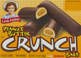 little debbie peanut butter crunch bars 12 ct walmart com
