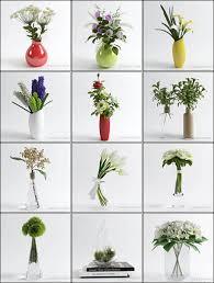 3d Flower Vase 3d Models Table Vases Flower Collection