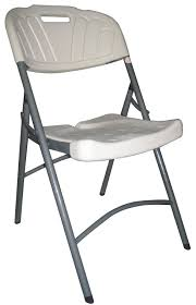 Folding Chairs Ikea White Plastic Folding Chair Slanted Back Rest Plastic Folding