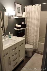 Love Your Little House Home Tour And  Tips Small Spaces - Bathroom furniture for small spaces