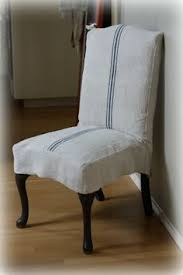 Slipcovers Dining Chairs Tie Back And Corseted Slipcovers A Fun Way To Dress Up Plain