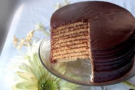 chocolate little layer cake never enough thyme