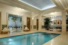 indoor and outdoor pools in evocative art deco and rustic settings