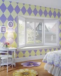 shutter bay window application j m wheeler window coverings