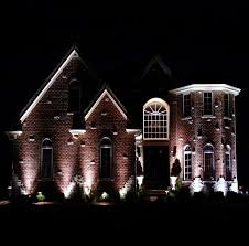 Install Landscape Lighting - how to install landscape lighting uplighting to wall dugas landscape