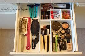 How To Organize A Bathroom Organized Bathroom Drawers The Sunny Side Up Blog