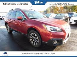 red subaru outback 2017 prime subaru manchester vehicles for sale in manchester nh 03102