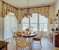 fascinating dining room curtains for simple window on plain wall