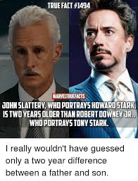 Tony Stark Meme - true fact 14g4 marveltruefacts uohnslatter whoportrayshiwaristark