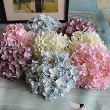 silk hydrangea popular silk hydrangea flowers artificial buy cheap silk hydrangea