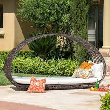 wicker daybed large size of natural rattan wicker patio daybed