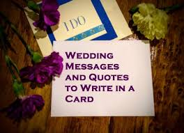 Wedding Card Messages Wedding Messages And Quotes To Write In A Card Holidappy