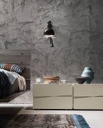 Tall Bedside Cabinets by Presotto Jazz Wide Tall Bedside Cabinet Handle Free Drawers