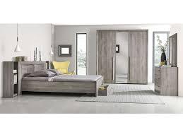 chambre complete adulte conforama commode 3 tiroirs coloris chêne gris vente de commode