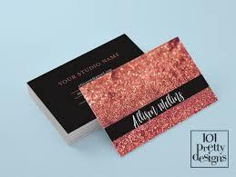 makeup artists business cards gold glitter business card makeup artist business card